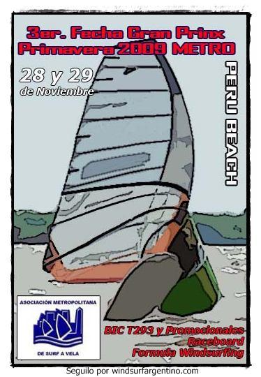 Aviso Regata 3ER GP PRIMAVERA2009