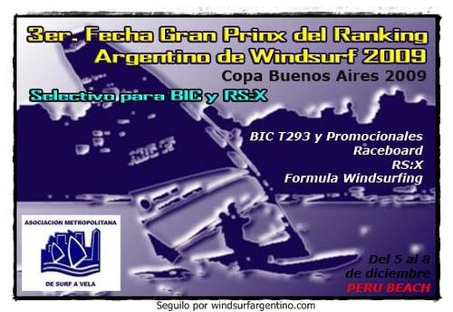 Aviso Regata GP Argentino BA2009