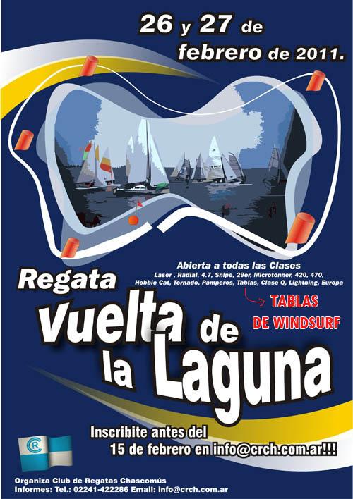 Vuelta de la laguna chascomus 2011